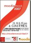 Affiche du MoodleMoot 2007